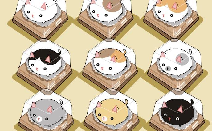 ふくら猫の和菓子