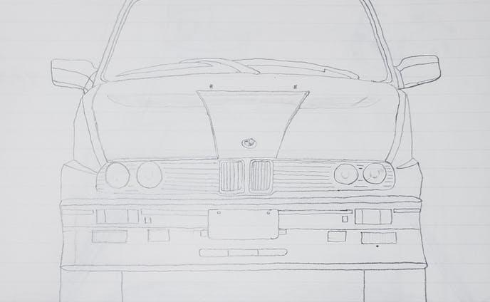BMW E30 M3 フロントデザイン
