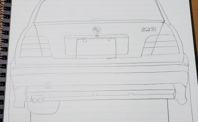BMW E36M3 テールデザイン