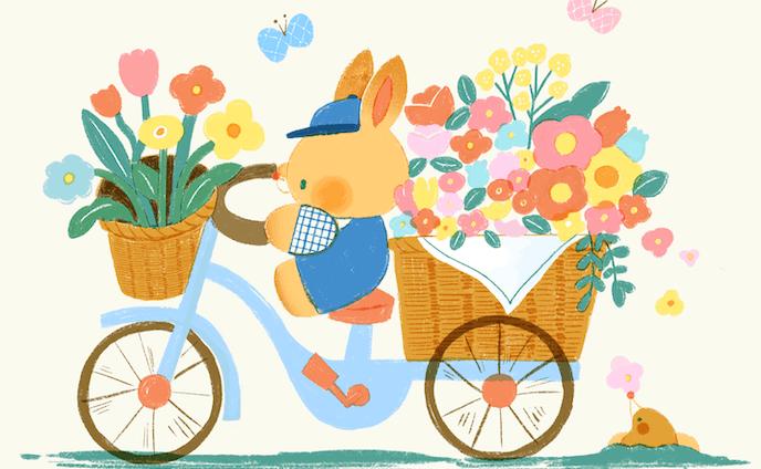 春のお届け屋さん