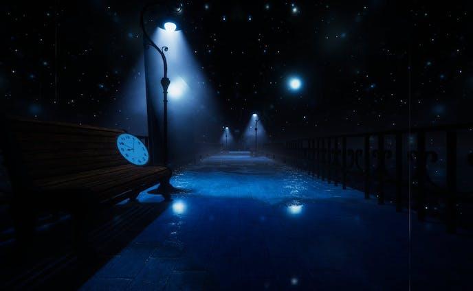 BlueLIght Alley