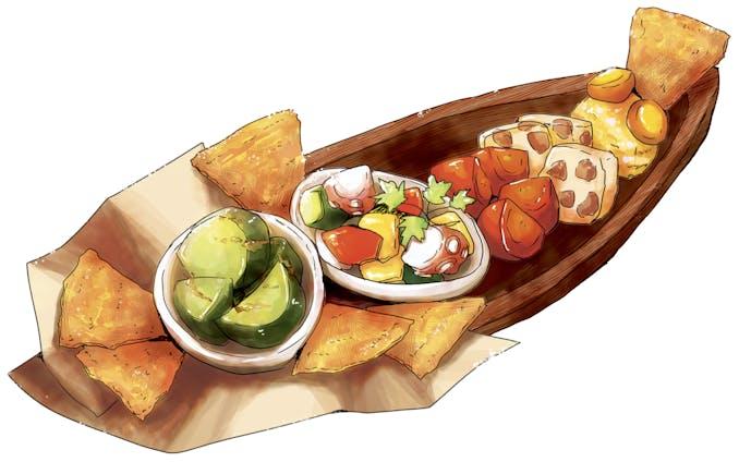 【こんなものも描けます】料理のイラスト