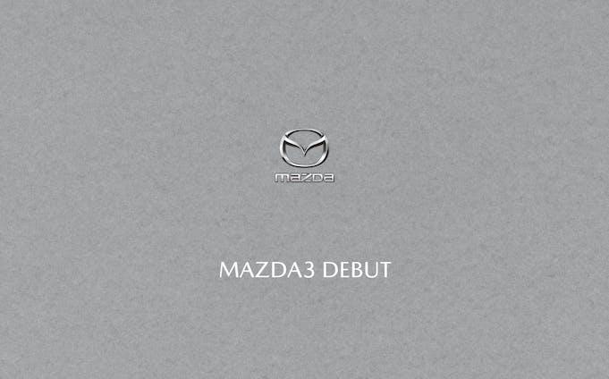 MAZDA3 新車案内リーフレット