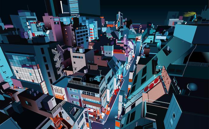 夜光の刺客   Illustration