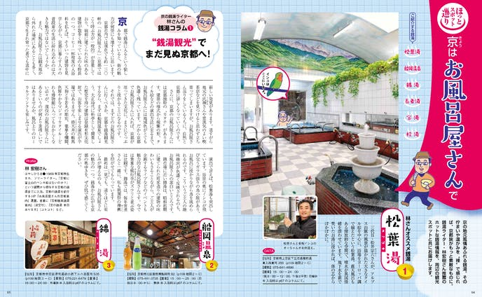 京都の銭湯 記事