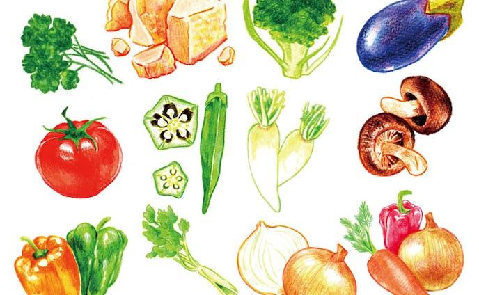 食品ラベル用イラスト