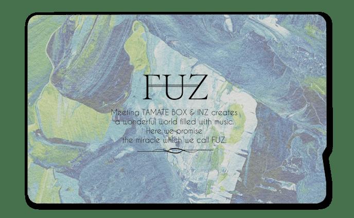 FUZ「unplugged live tour「VOICES」」Goods design