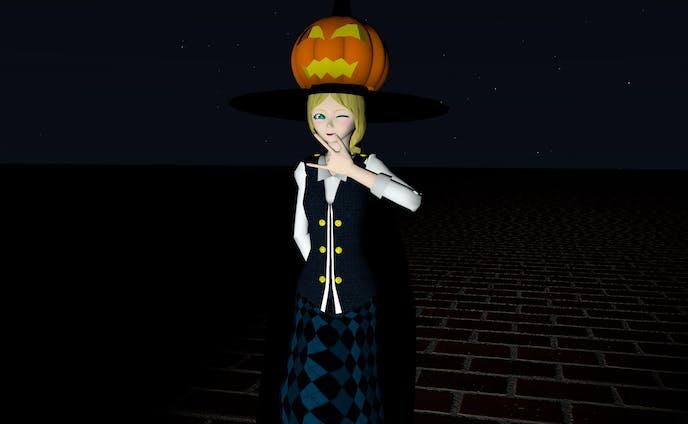 ハロウィン少女