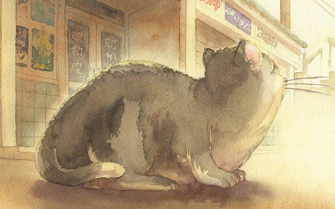 電子書籍「猫のソラリス」装画