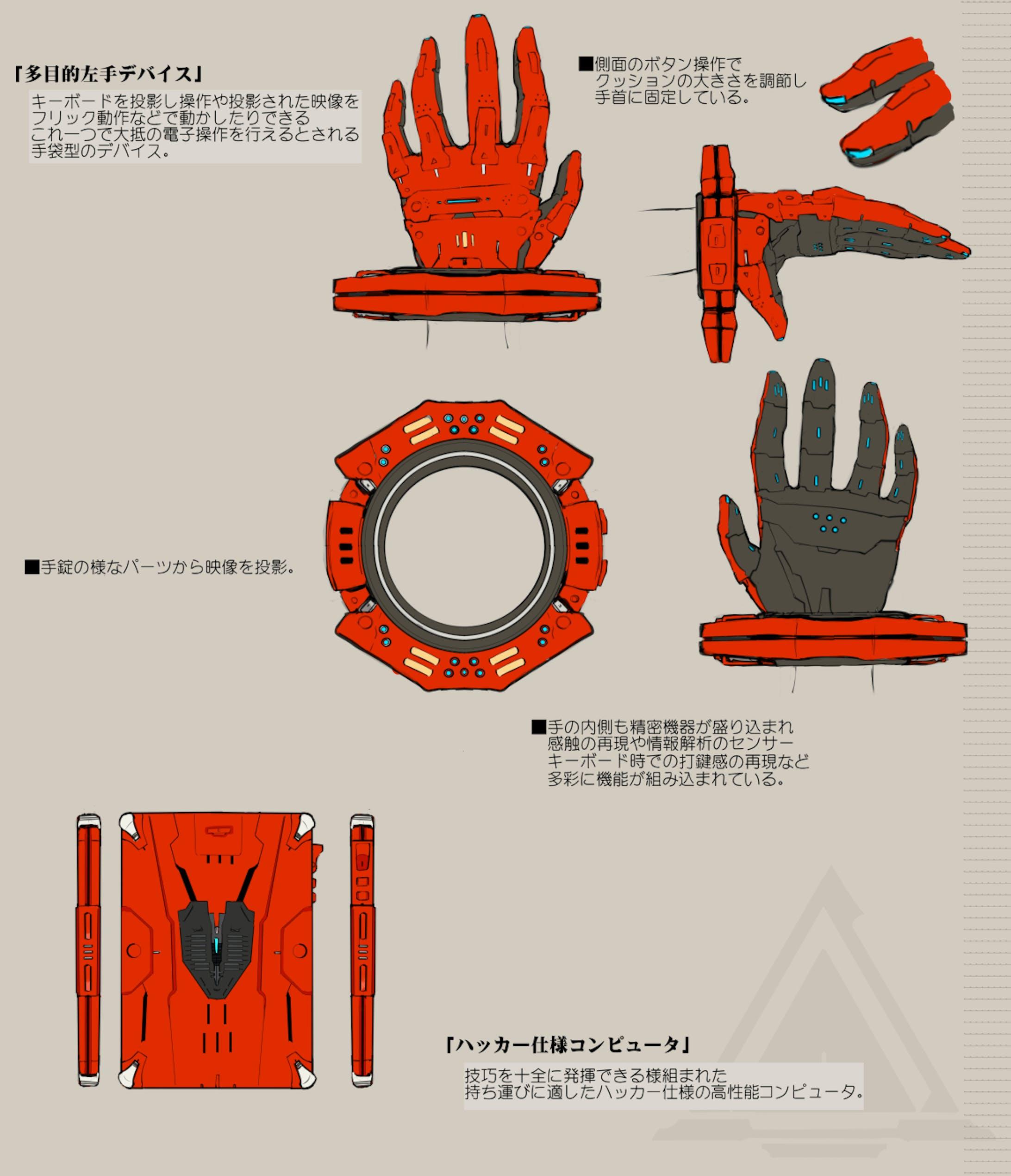 「創作」SF魔女風ハッカー-4