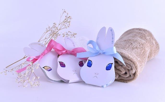 ウサギの形のバスソルト『バスコンシェルジュ』