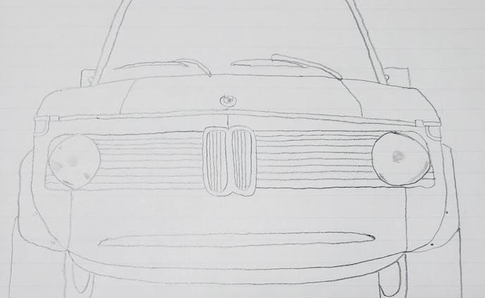 BMW 2002 フロントデザイン