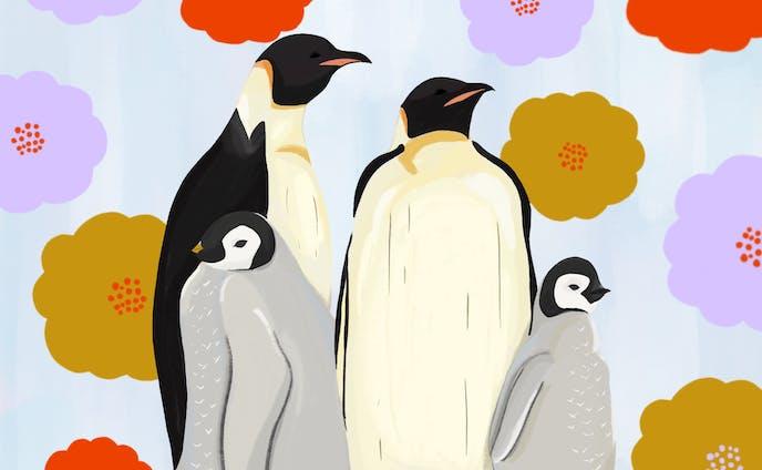 ペンギン家族の夢