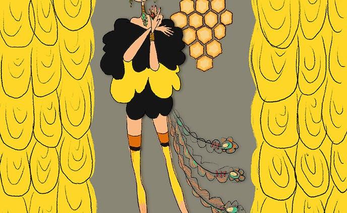 蜂のコスチューム