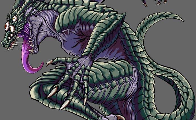 爬虫類獣人系モンスター