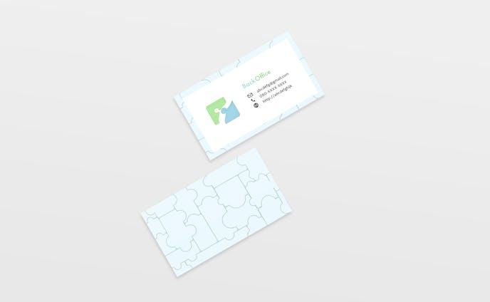 【Mockup】business card backoffice