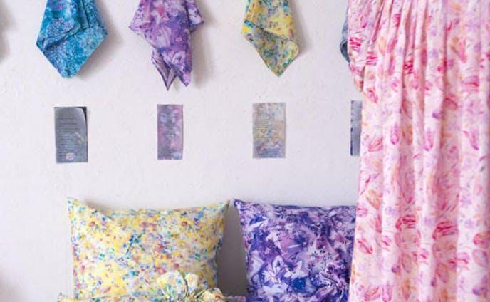 mumea textile exhibition 「Garden」at ギャラリー・ドゥー・ディマンシュ