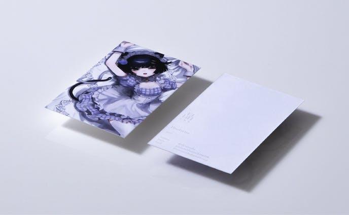 イラストレーター「晶様」様の名刺デザイン