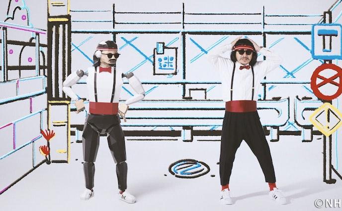 Eテレ『シャキーン!ミュージック』曲『ミスターアクシデント』振付・かせきロボとして出演