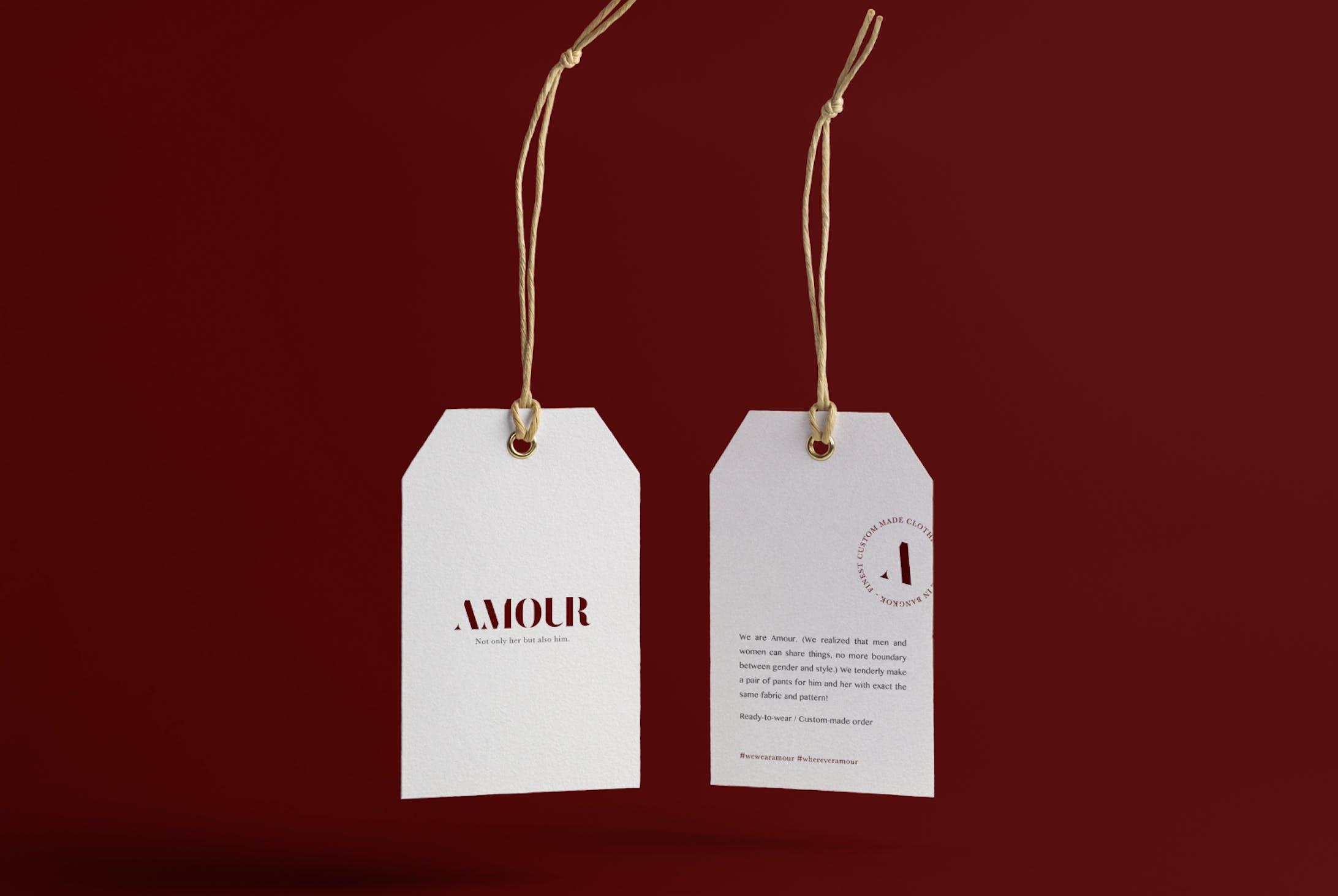 Amour Logo & Branding-3
