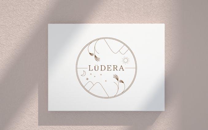 ロゴデザイン(LuDERA様 / コンペ不採用 / 3案)