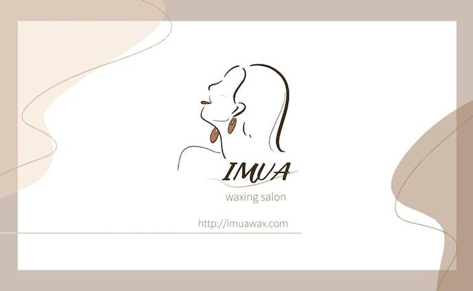 【名刺デザイン】IMUA