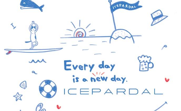 icepardal【アイスパーダル】ブランドのマリンスポーツウェアのデザイン