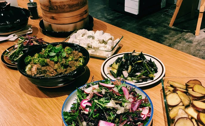株式会社Huuuu様とNext Commons Lab様の渋谷区のど真ん中で、産地ど直送の秋のお野菜が食べられる会