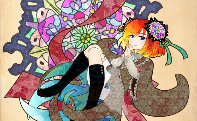 万華鏡の守護妖精