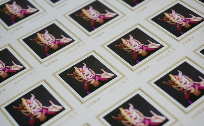 ついに私は日本郵政のオリジナル切手になったぞ!!