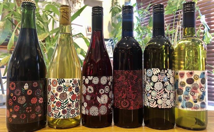 ワインラベル 全6種