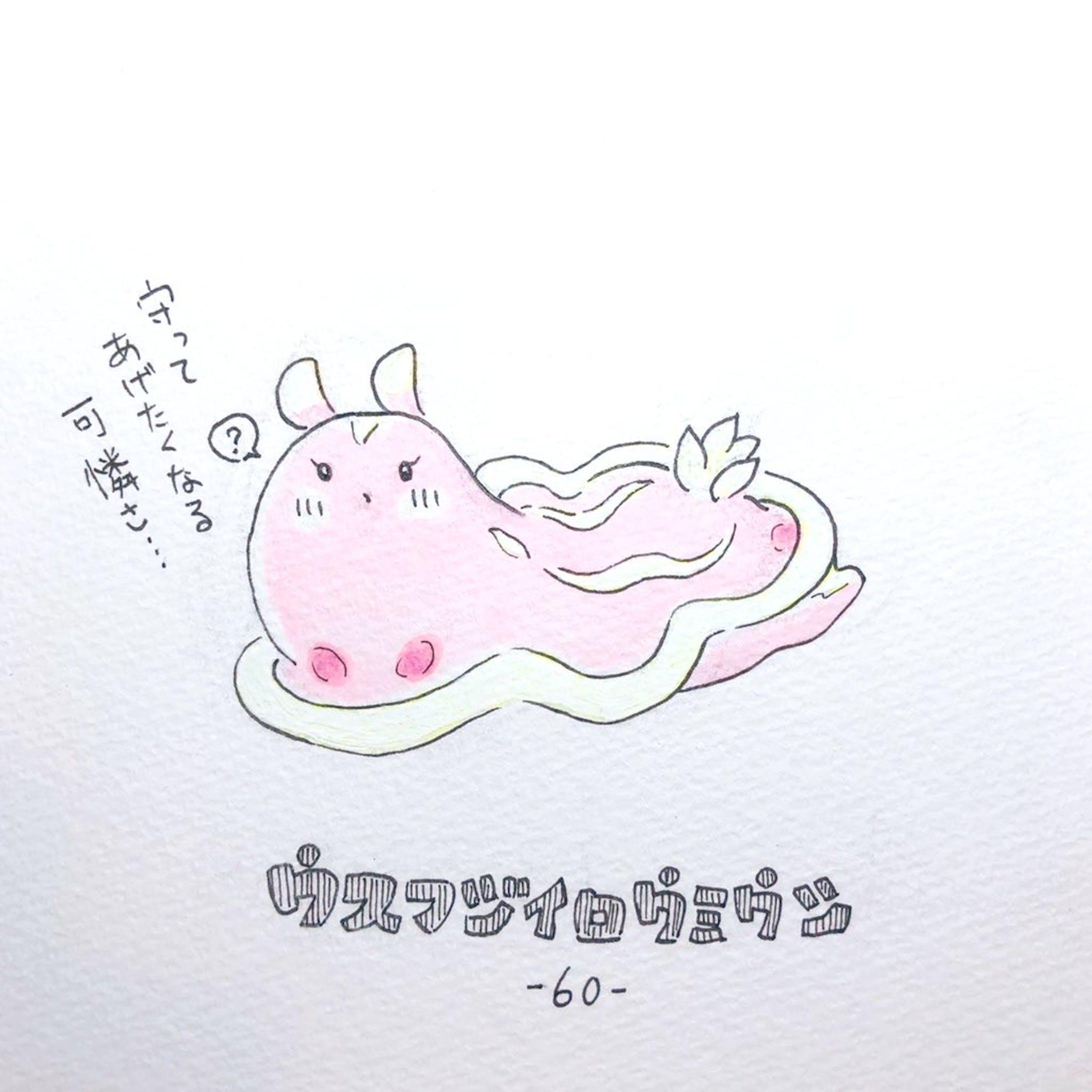#毎日ゆるかわウミウシ(15〜60)-48