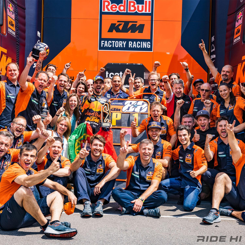 RIDE HI MotoGPコラム Vol.4/KTMに強さをもたらす総合力と、ペドロサ擁するテストチームの進化