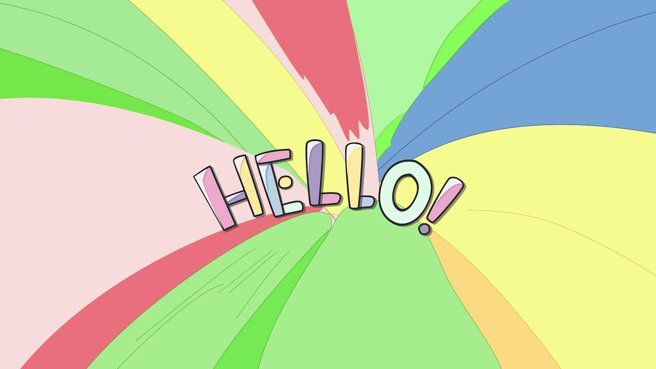 『Hello』:Motion Graphics