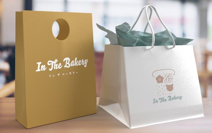 ロゴデザイン「In The Bakery」