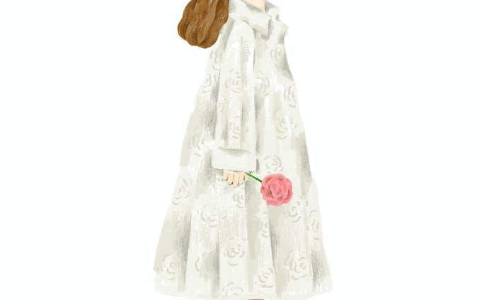 花のコート