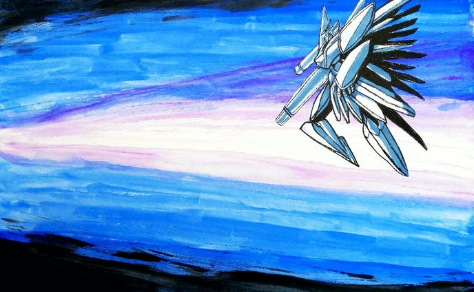 夜明けと機械妖精