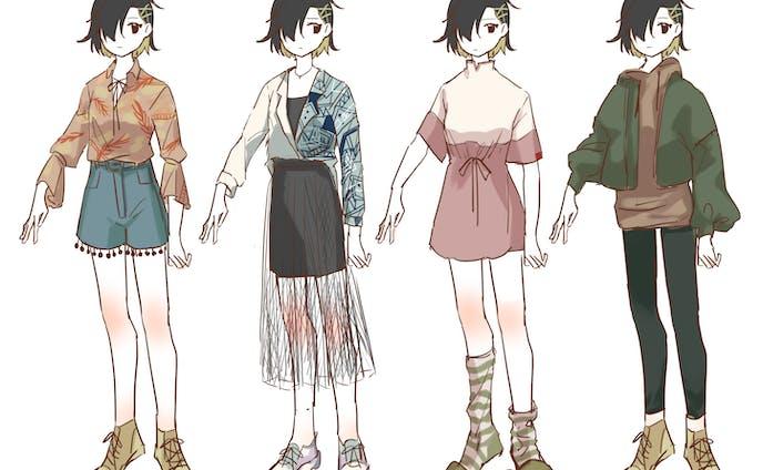 現代服着せ替え02