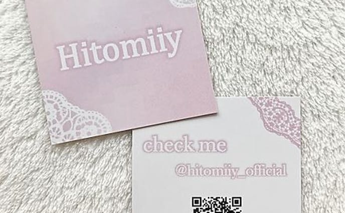 名刺 Hitomiiy