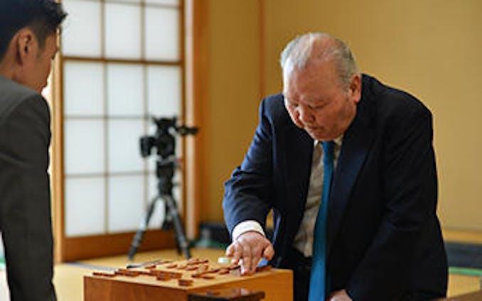 【ライティング】加藤一二三九段、引退試合