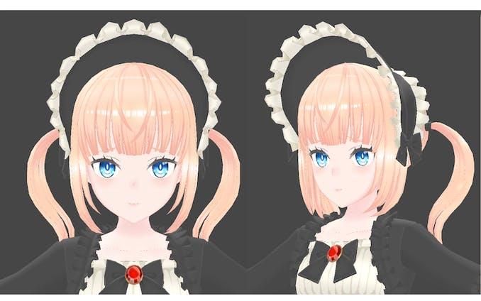 3Dキャラクター「少女イノセント」