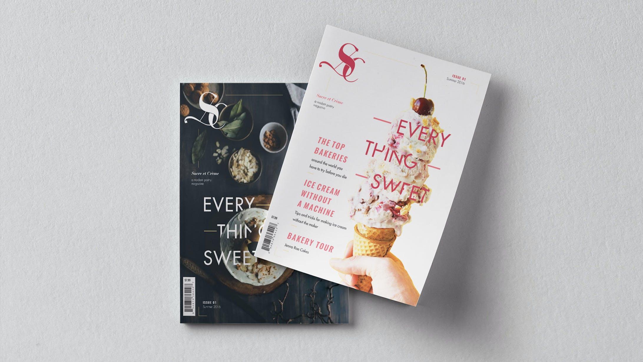 Sucre et Creme: Pastry Magazine-2