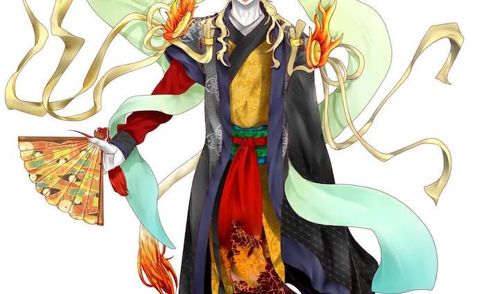 Twitter企画での神話モチーフのキャラクターデザイン