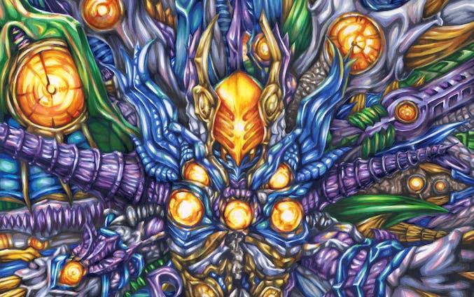 虚空怪獣グリーザ(20200125)