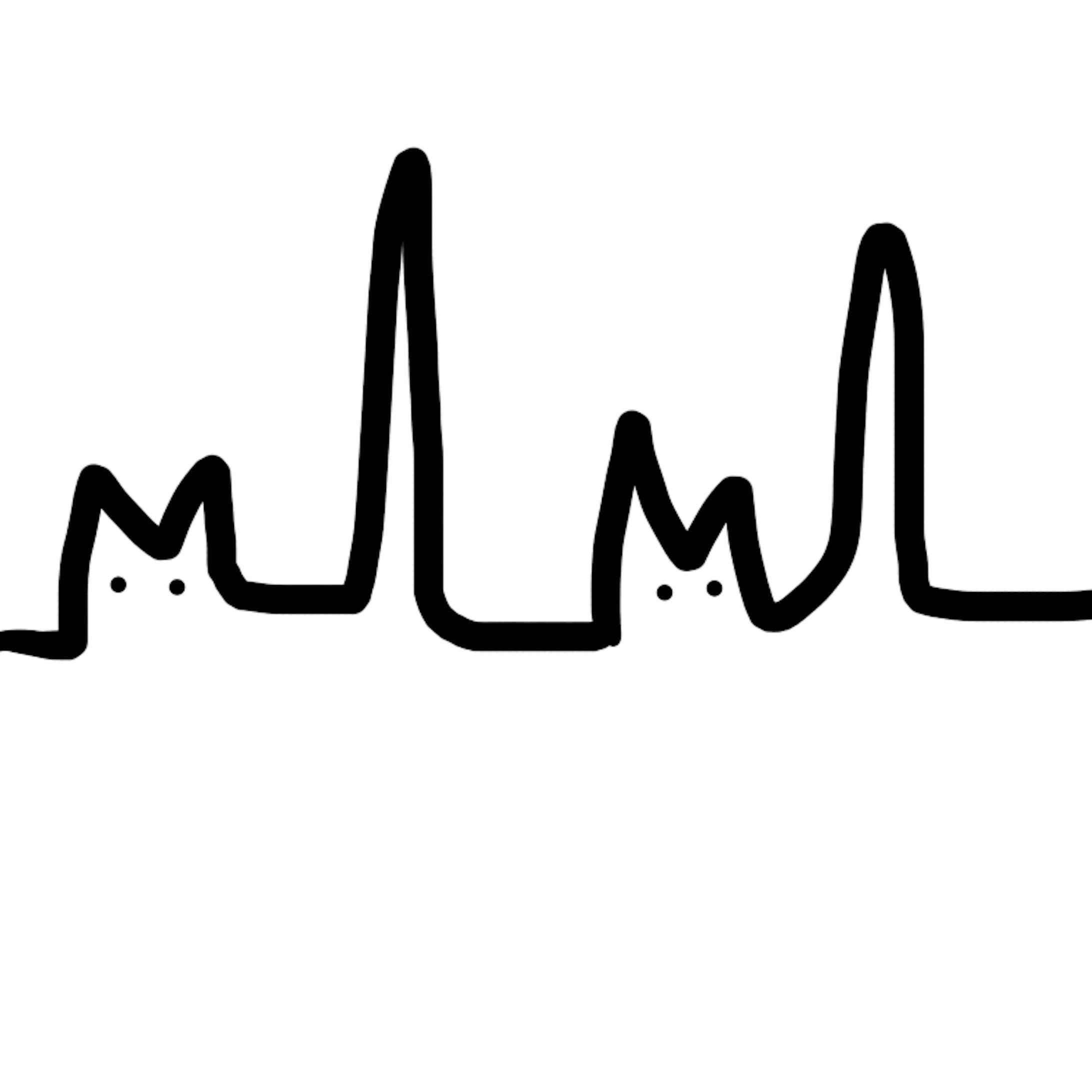 心電図ねこ-1