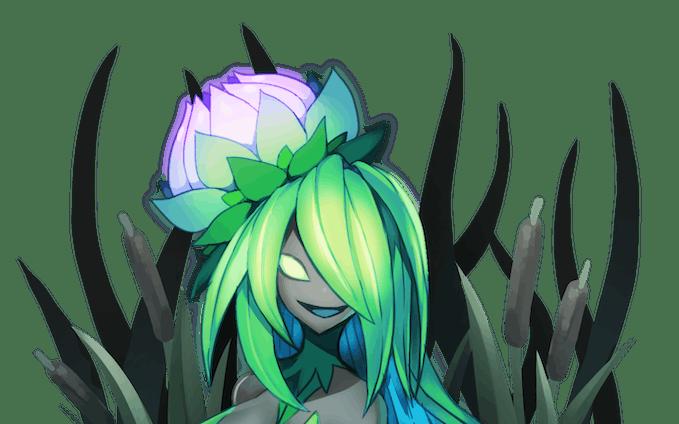 沼地の女王花