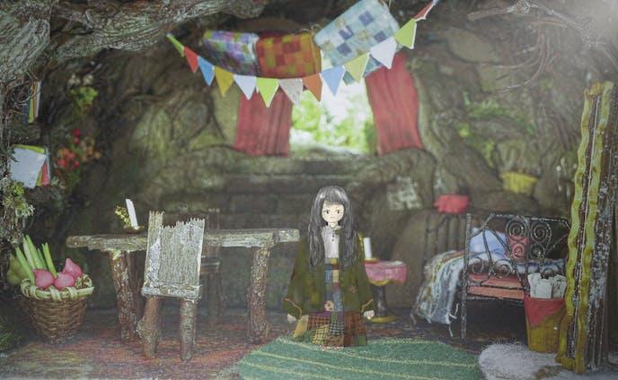 児童小説「モモ」モモの部屋