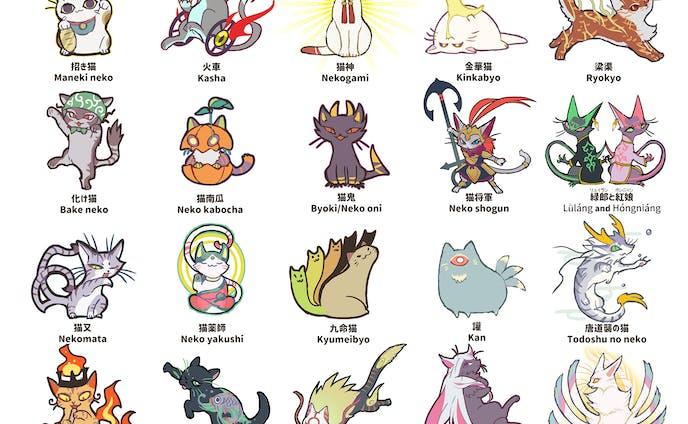 世界の神話、民話に登場する猫たち1