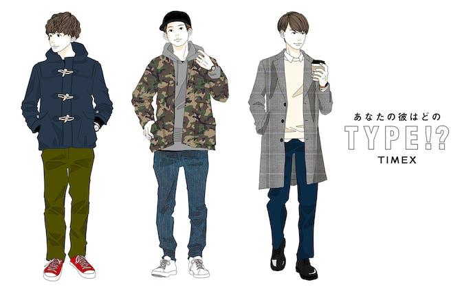 TIMEX|ファッションイラスト