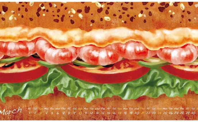 サンドイッチポストカード